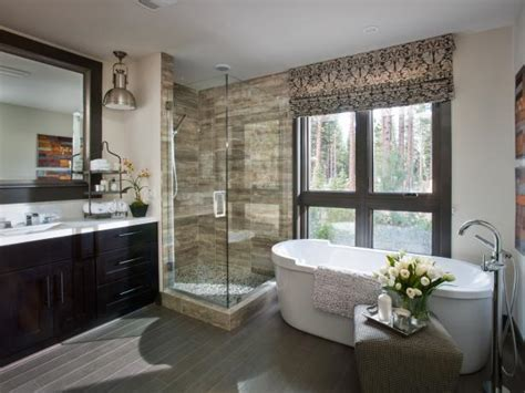 modern bathroom design ideas  pictures hgtv