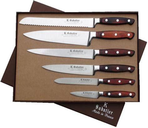 range couteaux de cuisine couteaux d 39 office manche en olivier