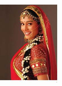Bridal hairstyles for indian weddings