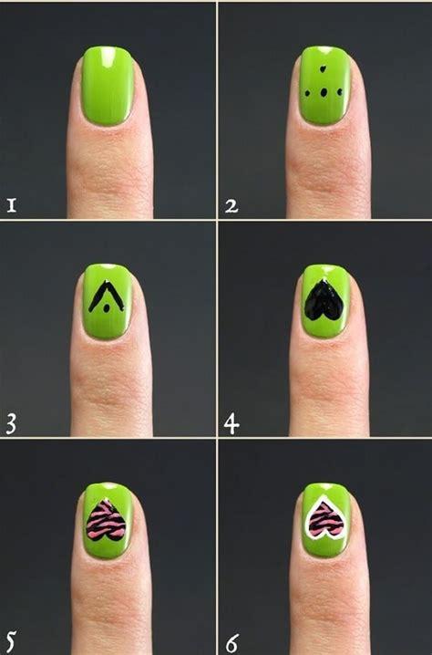 unas decoradas en color verde unas decoradas nail art