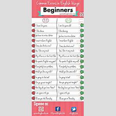 Common Errors In English  Grammar  Pinterest  English, English Beginner And Learning English