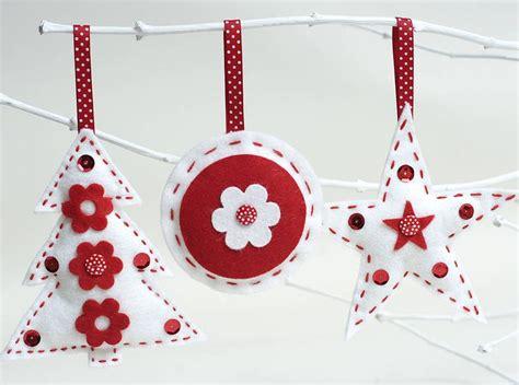 scandi christmas decorations craft kit set christmas