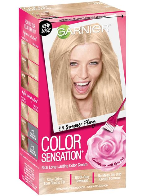 color sensation  light natural blonde hair color