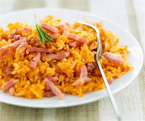 recette cuisine simple riz à la sauce tomate et au jambon recette gourmand