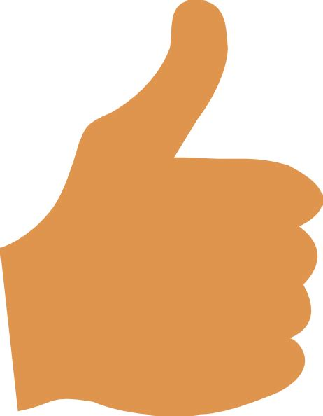 Thumbs Clipart Thumbs Up Clip At Clker Vector Clip