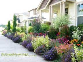 flower garden landscape ideas photograph curb appeal or th