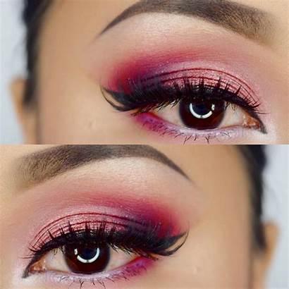 Makeup Eye Pink Designs Pretty Bridal Arabic