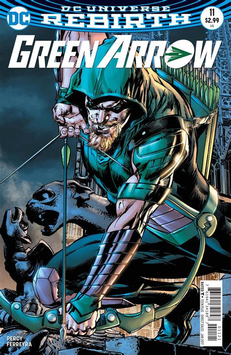 Exclusive Preview Green Arrow #11 Freaksugar