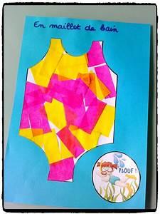 Activité Manuelle été : en maillot de bain et plouf bricolages d 39 t ~ Melissatoandfro.com Idées de Décoration