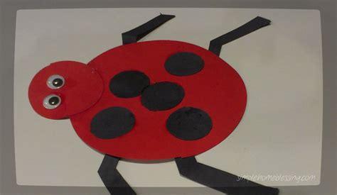 ladybug crafts for preschoolers toddler craft ladybug simple home blessings 615
