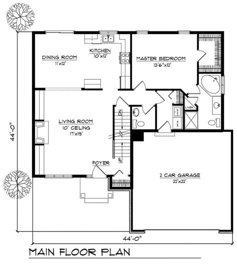 ranch home   bdrms  sq ft floor plan