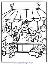 Coloring Kleurplaten Pages Grocery Markt Kleurplaat Van Sheets Nl Thema Op Eten Popular Pasen Voor sketch template