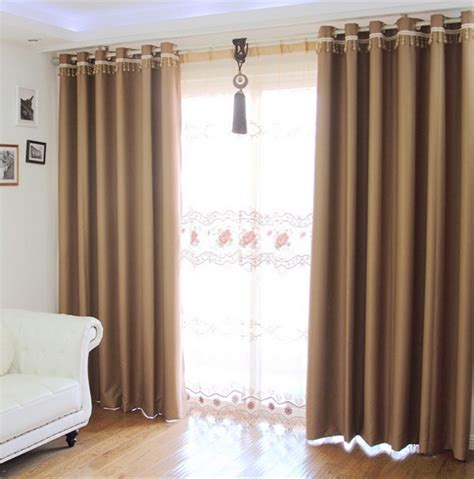 naturally warm brown living room curtains abpho