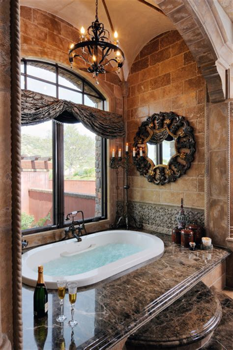Tuscan Bathroom Decor Ideas by 1 World Estate