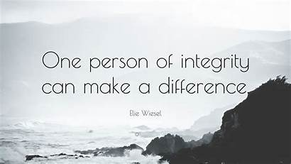 Difference Person Integrity Quote Quotes Christian Crazy
