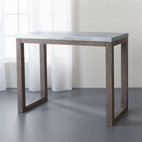 Stern Small Counter Height Table + Reviews  Cb2