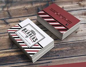 20 beautiful roundup of barber business cards wpaisle for Barber business cards