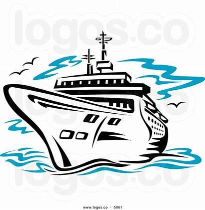 Cruise Ship Clip Clipart Sea Travel Disney