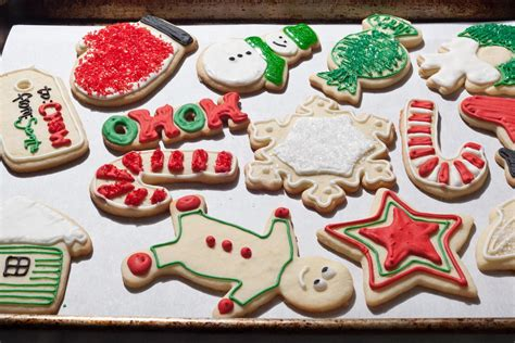 christmas sugar cookies recipe dishmaps