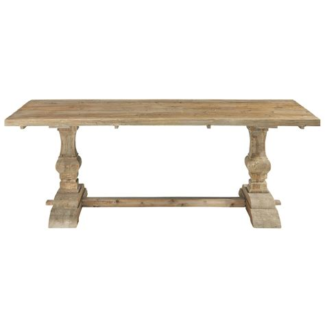 distressed wood dining table distressed wood dining table w 220cm lourmarin maisons