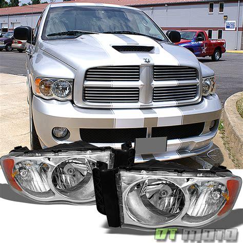 2005 dodge ram lights 2002 2003 2004 2005 dodge ram 1500 2500 3500 headlights