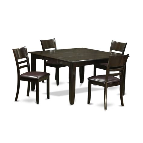 Dinette Table With Leaf by Bisonoffice 5 Pc Dining Room Set Dinette Table With Leaf