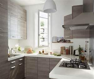 petites cuisines ouvertes modle intuition bonnet cuisine With meuble pour petite cuisine 1 petite cuisine avec 238lot central ayant toute la