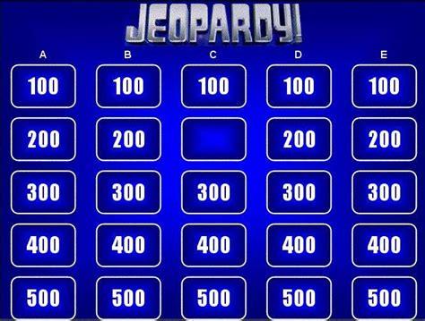 jeopardy powerpoint  template powerpoint jeopardy