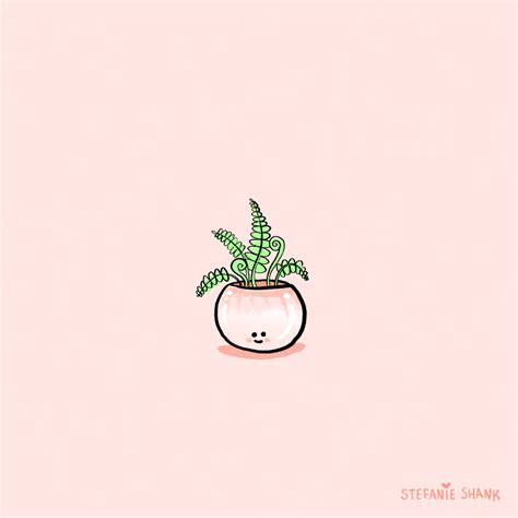 pastel plants gif  stefanie shank find share  giphy