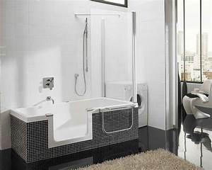 Mischbatterie Für Badewanne Mit Dusche : badewanne mit t r aktuelle vorschl ge ~ Markanthonyermac.com Haus und Dekorationen