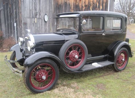 1929 Ford Model A Tudor For Sale On Bat Auctions