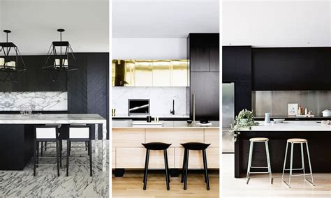 colors    trend  modern kitchens