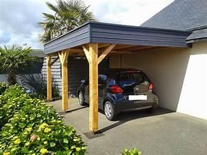 Carport Avec Abri : abri bois concept abris bois concept ~ Melissatoandfro.com Idées de Décoration