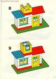 Lego 525 Basic Building Set In Tote Pack  5 Plus Set Parts
