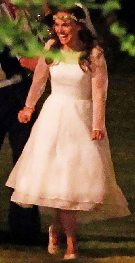 natalie m wedding dresses natalie portman 39 s white rodarte wedding dress stylefrizz