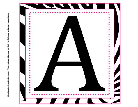 printable large letters 5 best images of printable letters alphabet large