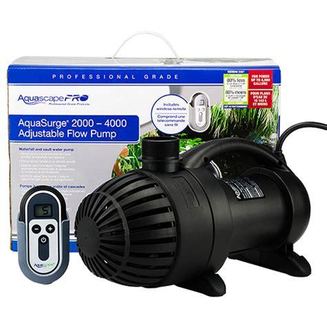 Aquascape Pro by Aquascape Aquasurge Pro 2000 4000 Mpn 45009 Best