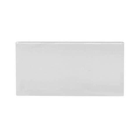 3x6 snow white bright glazed ceramic wall tile