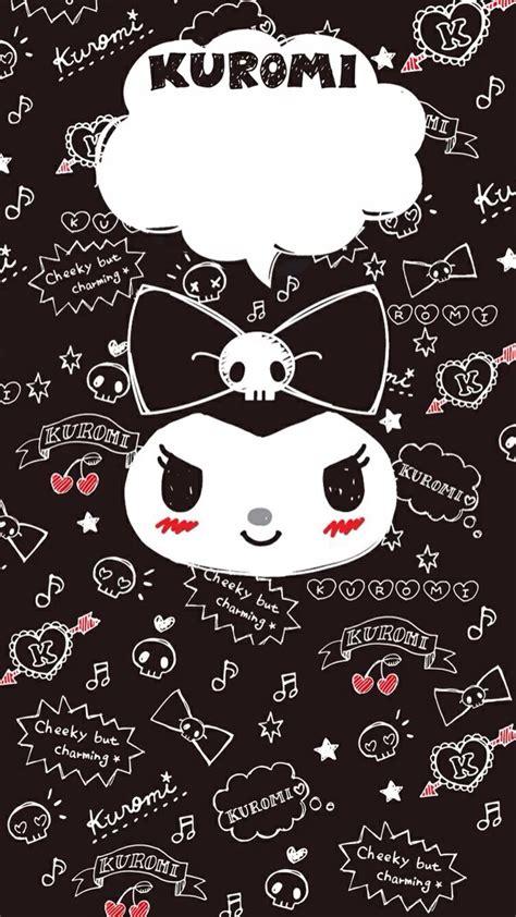 kuromi  melody sanrio wallpaper  melody  creepy