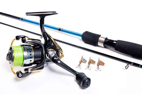 types  fishing reels  rods  pick