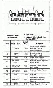 Wiring Diagram For Chevy Blazer S10 Stereo  U2013 Readingrat Net