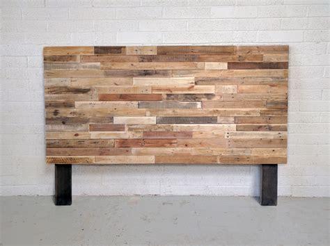 reclaimed wood king headboard recycled pallet wood headboard or bed custom reclaimed king