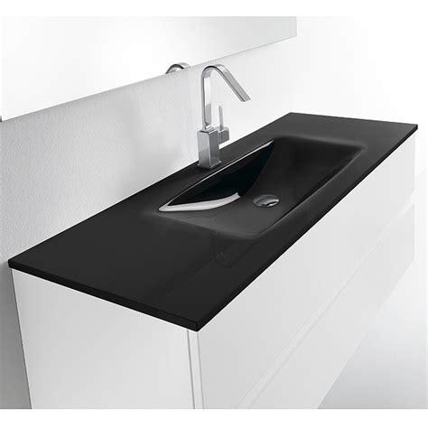 vasque en pas cher meuble avec vasque valenzuela et 2 tiroirs solco 100x46x46