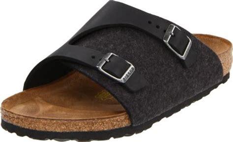 birkenstock zurich sandal in black anthracite black lyst