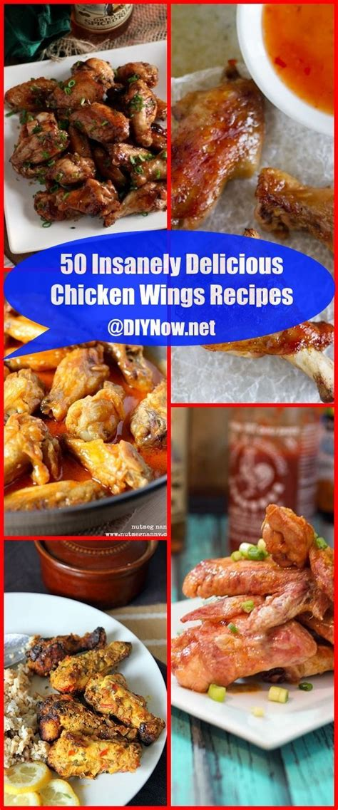 50 Insanely Delicious Chicken Wings Recipes DIYNownet