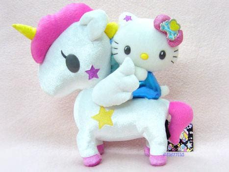 hello r c tokidoki x hello series 4 unicorn plush