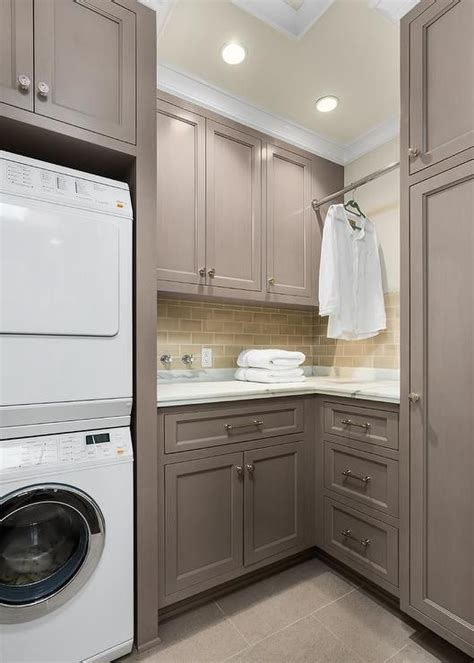 kitchen dish cabinet gray laundry room features gray shaker cabinets painted 1552