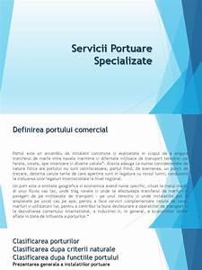 Servicii Portuare Specializate Ppt