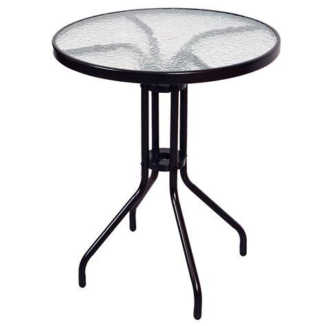 gartentisch mit schirmloch bistrotisch mit glasplatte und schirmloch glastisch gartentisch terrassentisch