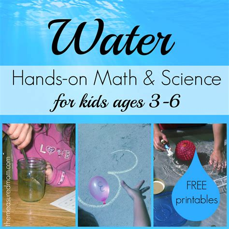 Sinking And Floating Activities by Water Math Amp Science Activities For Kids Ages 3 6 The